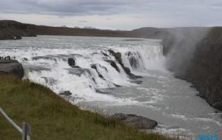 Gullfoss Reykjavik 12.08.27 - Norwegen Island Schottland AIDAmar Nordeuropa