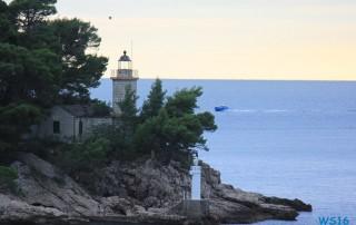 Hafen Dubrovnik 16.10.06 - Von Venedig durch die Adria AIDAbella