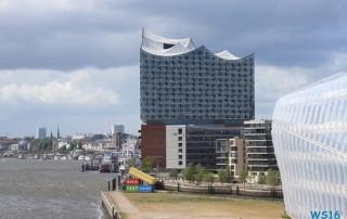 Hamburg 16.05.14 - Kurztour mit strahlender Sonne ohne das Schiff zu verlassen