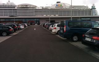 Hamburg 16.07.02 - Das neue Schiff entdecken auf der Metropolenroute AIDAprima