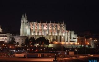 Kathedrale Palma de Mallorca 16.07.16 - Die kleinen Perlen des Mittelmeers AIDAstella