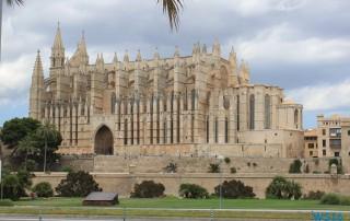 Kathedrale Palma de Mallorca 16.07.23 - Die kleinen Perlen des Mittelmeers AIDAstella