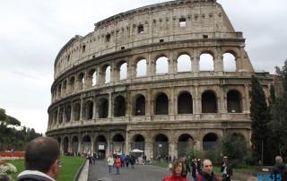 Kolosseum Rom 12.10.31 - Tunesien Sizilien Italien AIDAmar Mittelmeer