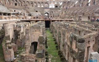 Kolosseum Rom 13.10.12 - Tunesien Sizilien Italien Korsika Spanien AIDAblu Mittelmeer