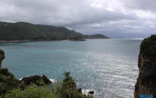 Korfu 16.10.11 - Von Venedig durch die Adria AIDAbella