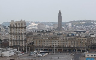 Le Havre 16.03.22 - Eine Runde England Frankreich Holland AIDAmar Metropolen