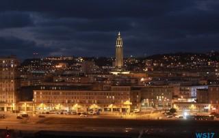 Le Havre 17.01.03 - Jahreswechsel auf der AIDAprima Metropolen