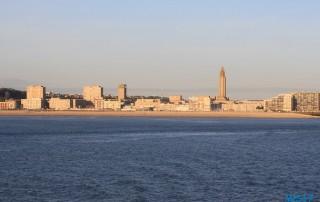Le Havre 17.04.17 - Unsere Jubiläumsfahrt von Gran Canaria nach Hamburg AIDAsol Westeuropa