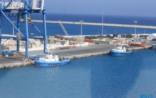 Limassol 13.07.21 - Türkei Griechenland Rhodos Kreta Zypern Israel AIDAdiva Mittelmeer