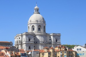 Lissabon 17.04.13 - Unsere Jubiläumsfahrt von Gran Canaria nach Hamburg AIDAsol Westeuropa