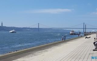 Lissabon 17.04.14 - Unsere Jubiläumsfahrt von Gran Canaria nach Hamburg AIDAsol Westeuropa