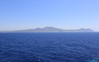 Mittelmeer 13.07.13 - Türkei Griechenland Rhodos Kreta Zypern Israel AIDAdiva Mittelmeer