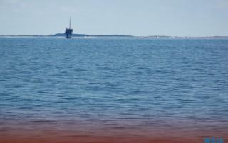 Vlieland Nordsee 16.05.17 - Kurztour mit strahlender Sonne ohne das Schiff zu verlassen