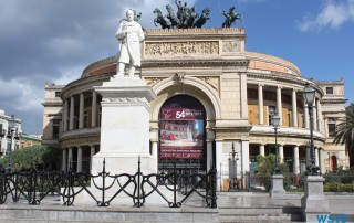 Palermo 12.10.29 - Tunesien Sizilien Italien AIDAmar Mittelmeer