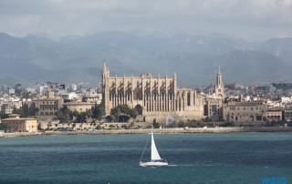 Palma de Mallorca 12.10.26 - Tunesien Sizilien Italien AIDAmar Mittelmeer