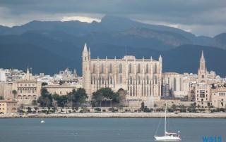 Palma de Mallorca 13.10.17 - Tunesien Sizilien Italien Korsika Spanien AIDAblu Mittelmeer