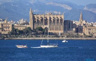 Palma de Mallorca 14.08.17 - Tunesien Italien Korsika Spanien AIDAblu Mittelmeer