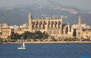 Palma de Mallorca 14.10.26 - Mallorca nach Gran Canaria AIDAblu Kanaren