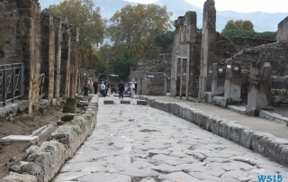 Pompeji Neapel 12.10.30 - Tunesien Sizilien Italien AIDAmar Mittelmeer