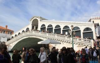 Rialtobrücke Venedig 16.10.09 - Von Venedig durch die Adria AIDAbella