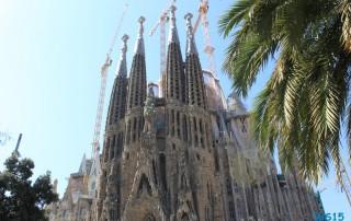 Sagrada Família Barcelona 14.08.26 - Tunesien Italien Korsika Spanien AIDAblu Mittelmeer