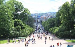 Schloss Oslo 17.06.24 - Kurztour von Kiel nach Oslo AIDAbella