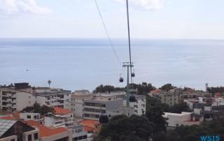 Seilbahn nach Monte Funchal Madeira 15.10.27 - Zwei Runden um die Kanarischen Inseln AIDAsol Kanaren