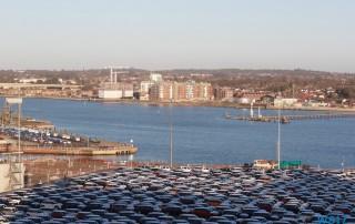 Southampton 17.01.02 - Jahreswechsel auf der AIDAprima Metropolen