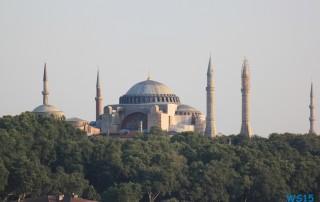 Stadt der Tageszeiten Istanbul 13.07.15 - Türkei Griechenland Rhodos Kreta Zypern Israel AIDAdiva Mittelmeer