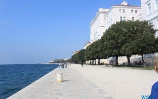 Zadar 17.10.13 - Historische Städte an der Adria Italien, Korfu, Kroatien AIDAblu